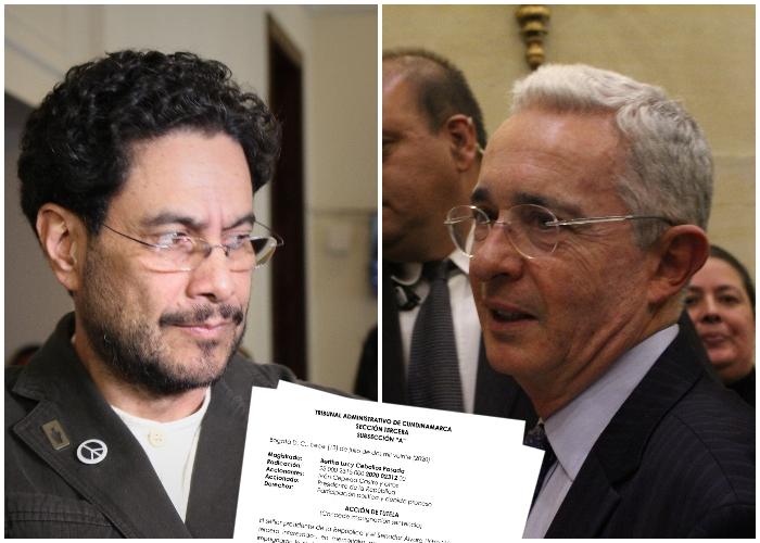 Cepeda y Uribe de nuevo enfrentados judicialmente: tropas de EEUU