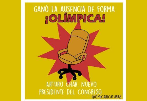 Caricatura: Una elección olímpica