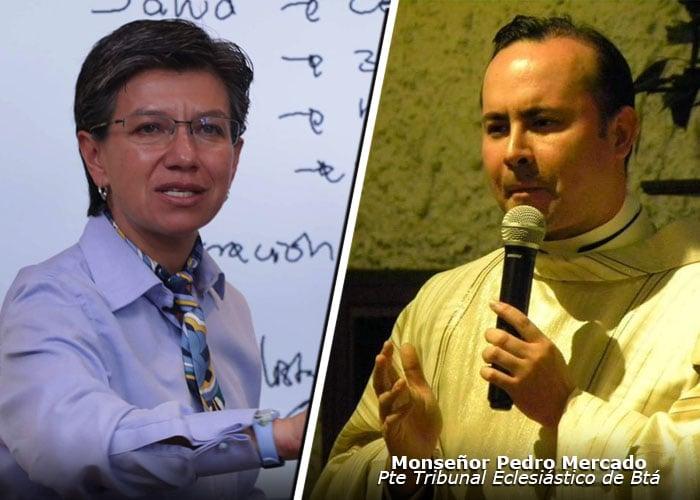 Sentido reclamo de monseñor Pedro Mercado a la alcaldesa de Bogotá
