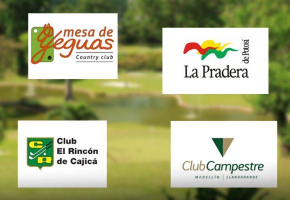 Golfistas y tenistas aficionados empiezan a volver a los clubes