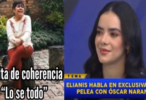 La insultada que le pegó la negra candela a Elianis Garrido