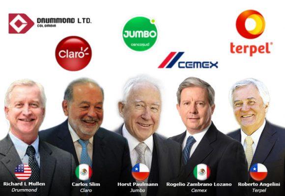 Los extranjeros que se han hecho más ricos en Colombia