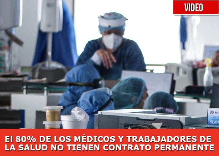 """""""El dinero del gobierno se queda en las EPS, no llega ni a los hospitales y menos a nosotros"""""""