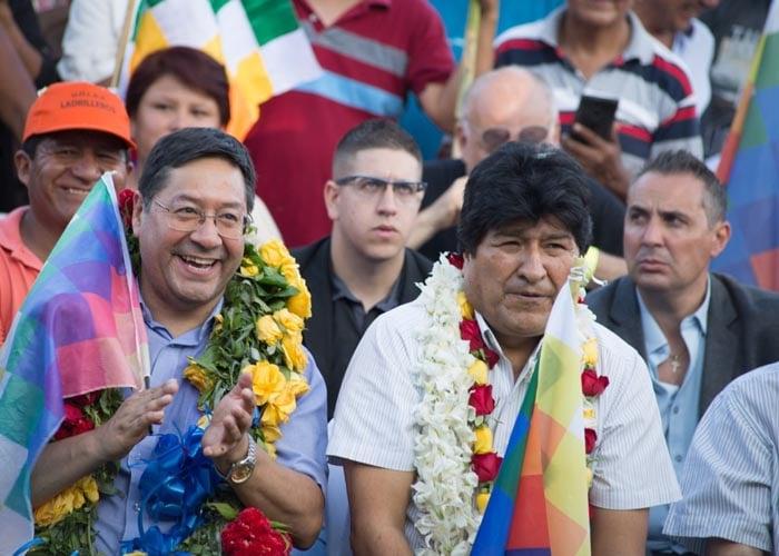 Evo Morales y su campaña desde el exilio en Argentina