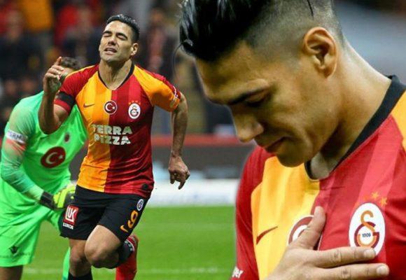 El triste final de Falcao en el fútbol europeo