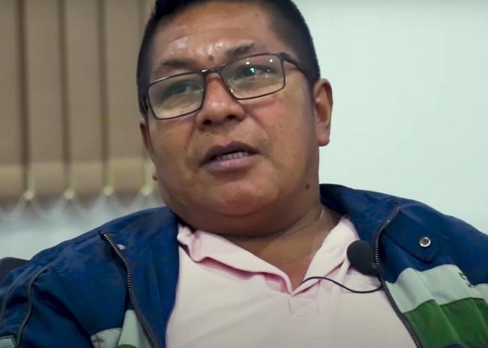 Germán Valencia y su historia de liderazgo ancestral