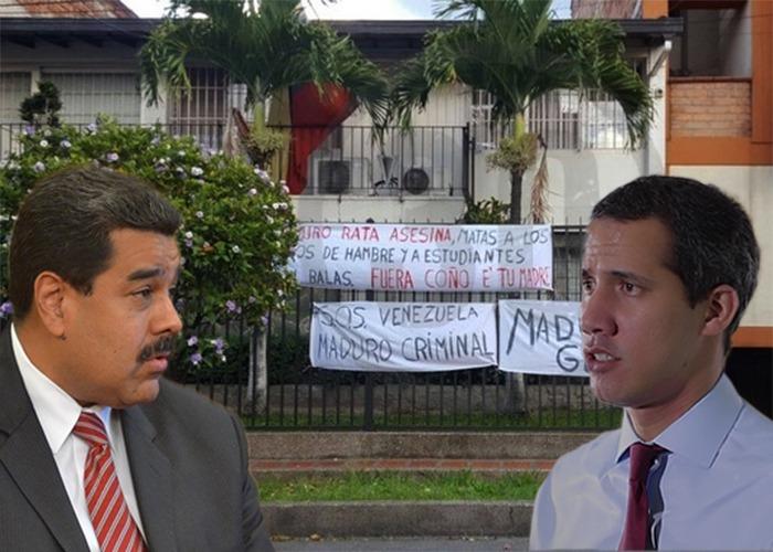 Otros 8 consulados de Maduro en Colombia que pueden terminar vandalizados