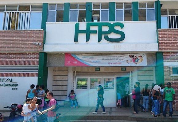 Alerta Hospital Francisco de Paula Santander