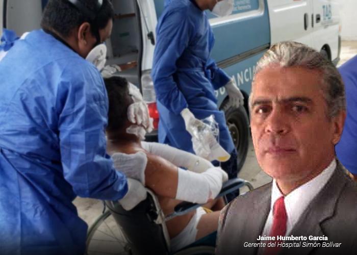 El desafio del Hospital Simón Bolívar con la tragedia de Tasajera