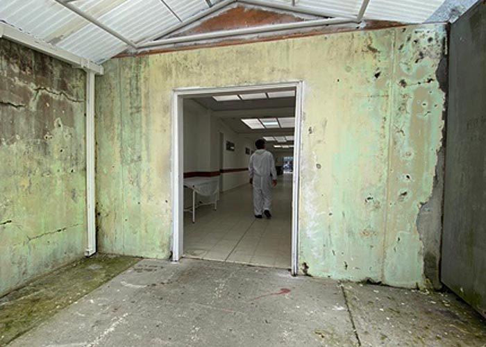 Estado del Hospital San Francisco de Asís antes de la intervención del Supersalud el 11 de junio
