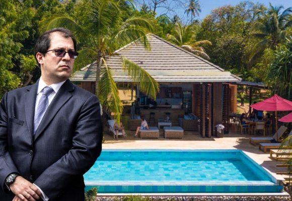 El paradisíaco hotel donde se habría hospedado el fiscal y su esposa en San Andrés