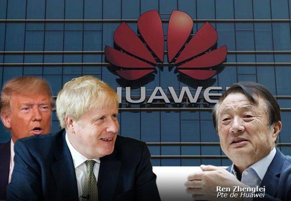 La bloqueada de Boris Johnson a Huawei, una arrodillada a Trump