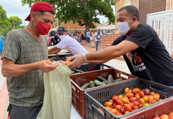 La otra pandemia : Barranquilla lucha contra el hambre desde la ventana de la Solidaridad