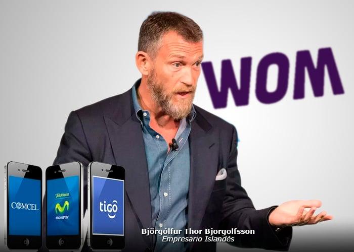 El islandés que entra a jugar duro en la telefonía celular en Colombia
