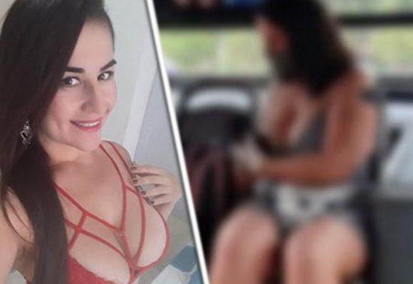 Kathalina López, la modelo web cam que se atravió a grabar una porno en bus en Cali