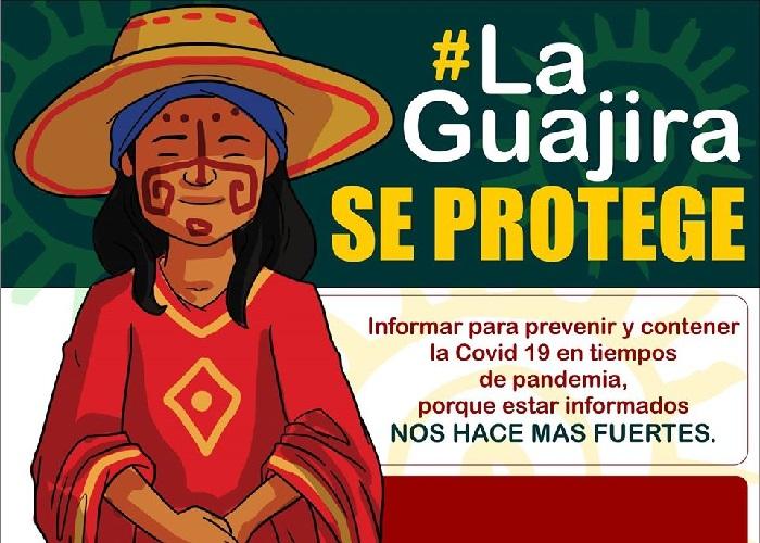 Con información y comunicación propia #LaGuajiraSeProtege