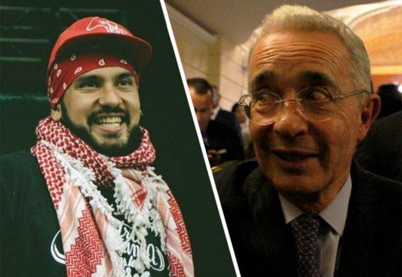 Un rapero obliga a Uribe a retractarse