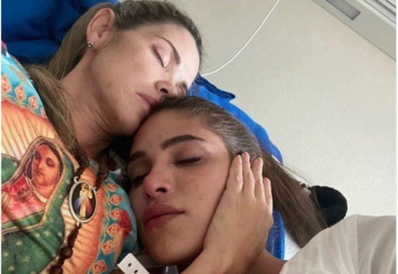 Mamá de Mara Cifuentes pide oración por tumor cerebral