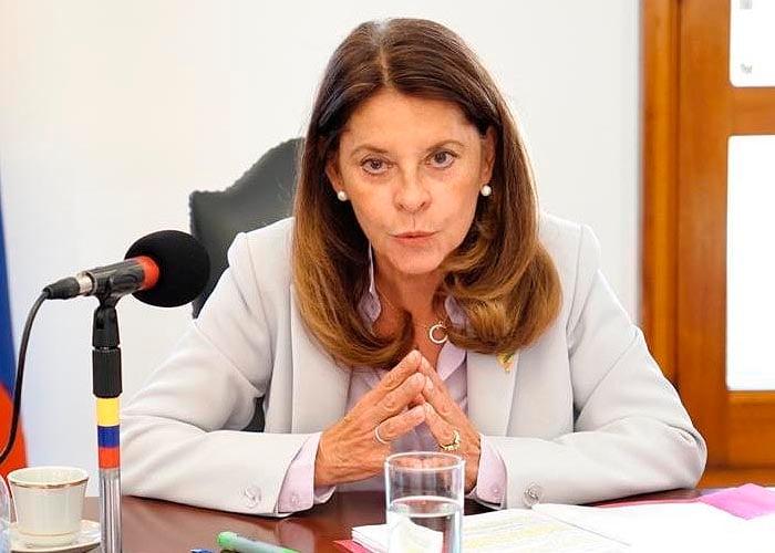 Marta Lucía Ramírez volvió contra los