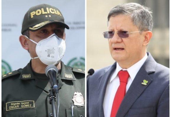 Comandante de la Policía de Bogotá y Gobernador (e) de Antioquia con Covid-19