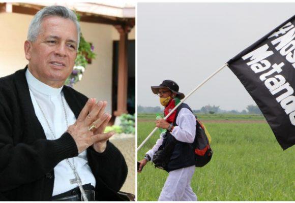 Obispo, congresistas de USA y Marcha de la Dignidad