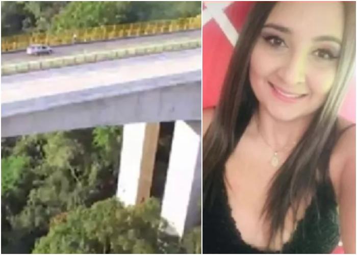 Por despecho mujer se habría tirado de puente en Tolima