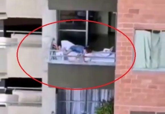 VIDEO - Un milagro salvó a niña de 6 años de caer desde un séptimo piso