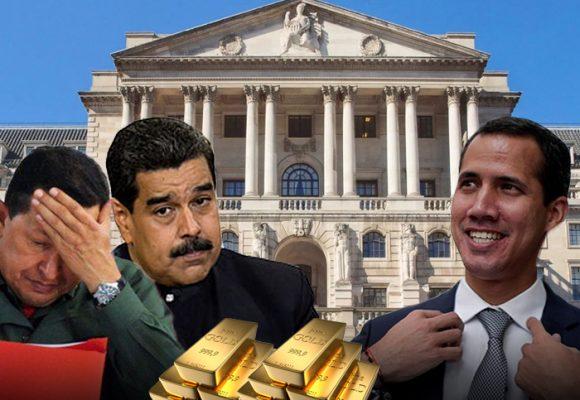 Cómo llegó el oro de Venezuela al Banco de Inglaterra