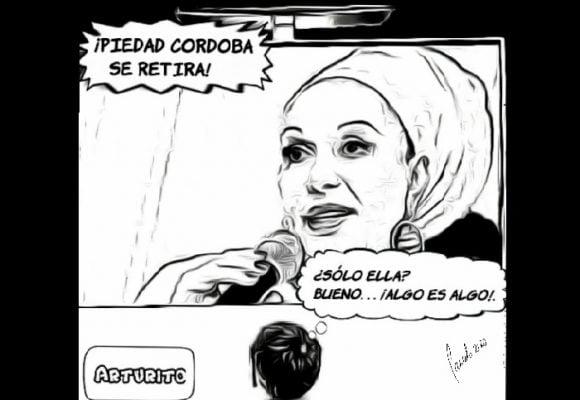 Caricatura: Mejor tarde que nunca