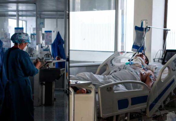 La angustia que se vive en la UCI de un hospital de Bogotá