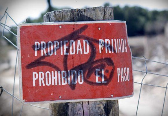 La propiedad privada no es sagrada