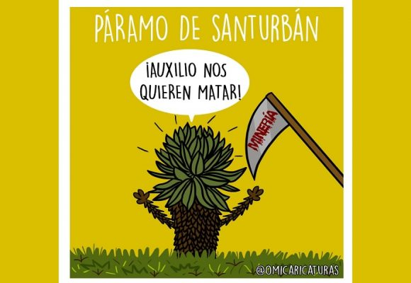 Caricatura: El llamado de auxilio de Santurbán