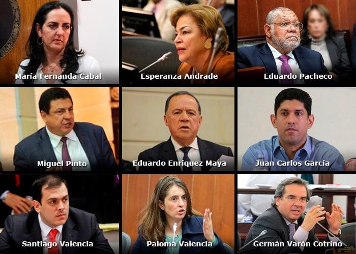 Nueve congresistas no aceptaron prescindir de los $14 millones de gastos de representación