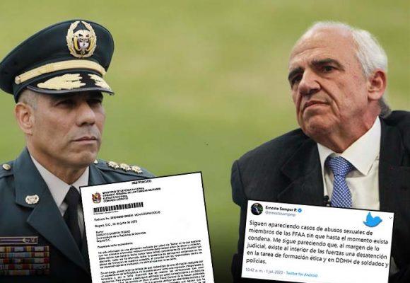 La indignación de Samper con las FFMM que enfureció al general Zapateiro