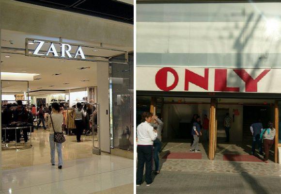 La ridiculez de comparar a Zara con el Only