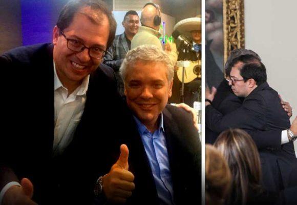 Presidente y fiscal, dos amigos atravesados por el caso Uribe