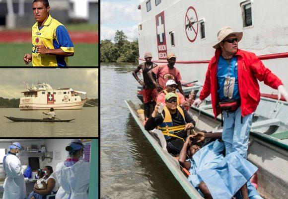 Los colombianos detrás del San Raffaele, el barco hospital del Pacífico
