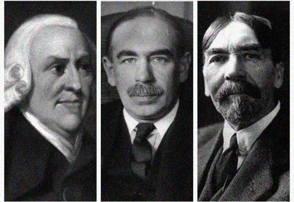 Sobre el papel del Estado en la economía y las posturas de Smith, Keynes y Veblen
