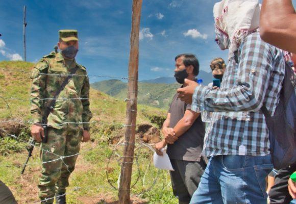 El ejército y los campesinos sí se pueden llevar bien en el Cauca