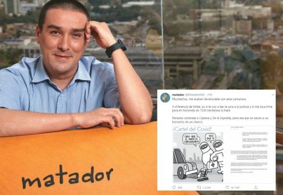 Médico entutela a Matador por caricatura