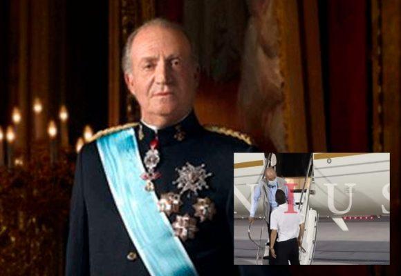 La primera imagen de Juan Carlos I en Emiratos Árabes