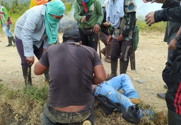Dos indígenas habrían muerto por balas del Ejercito en Corinto, Cauca