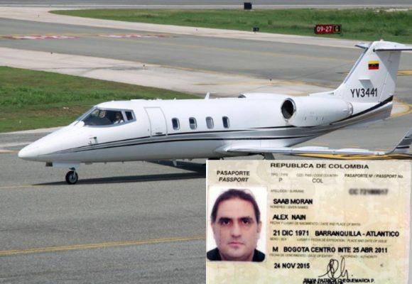 Avión de presunto socio de Alex Saab capturado con arsenal en Estados Unidos