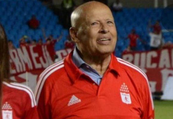 Se fue un ídolo del fútbol colombiano: muere Gabriel Ochoa Uribe a los 90 años