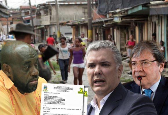 Desesperada carta del Alcalde de Buenaventura por inseguridad en el puerto