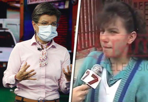 El look de Claudia López en los noventa