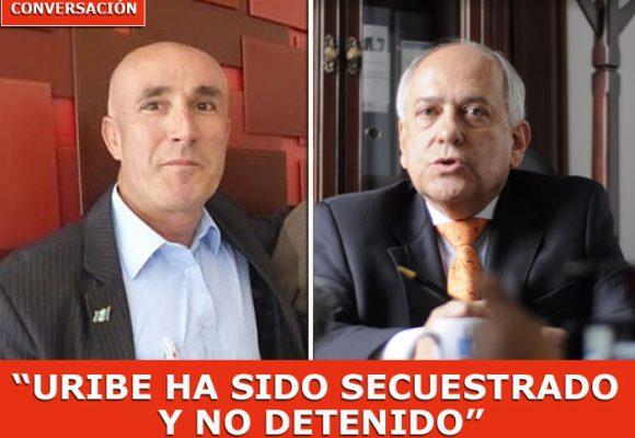 """""""Álvaro Uribe es irremplazable"""": José Obdulio Gaviria"""