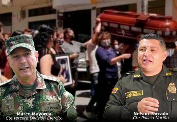 Los dos comandantes del Ejército y la Policía a quienes Nariño se les salió de las manos