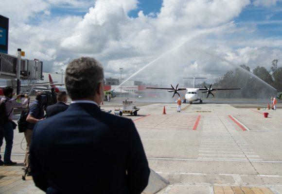 Arrancan en forma los vuelos en Colombia
