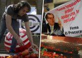 El alcalde de Medellín se dio a conocer con tomatazos a políticos